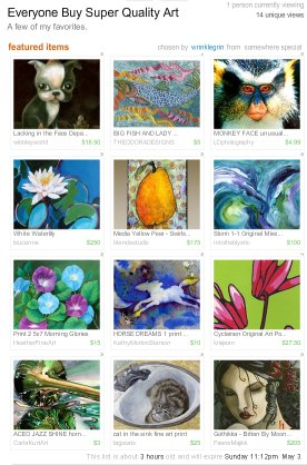 Everyone Should Buy Quality Art Treasury