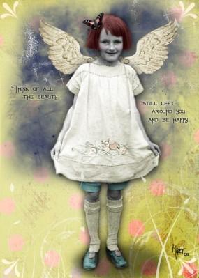 Happy Fairy Print