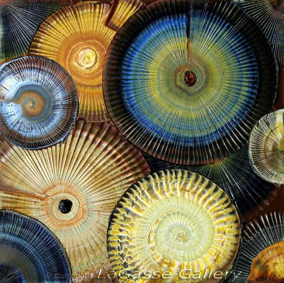abstract textured art Art News from EBSQ