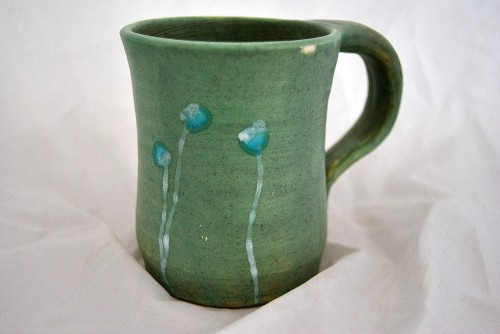 bLu Poppies Mug by Samos