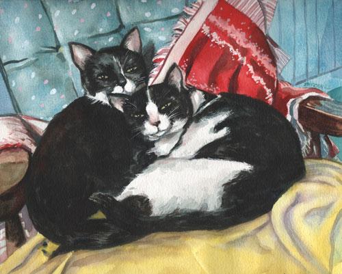 Mannie & Cassie by Mark Satchwill
