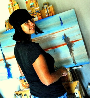 Artist Stephanie Amos