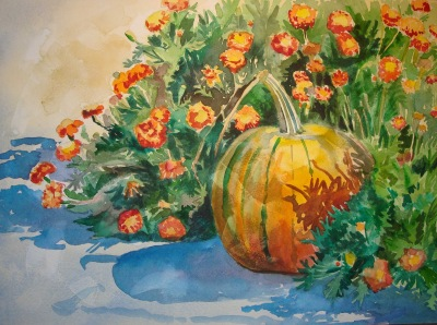 A Month of Pumpins by Kathy Jurek