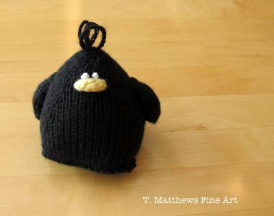 Halloween Black Bird by Tiffany Matthews