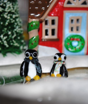 Penguin Beads by the Beaded Heron