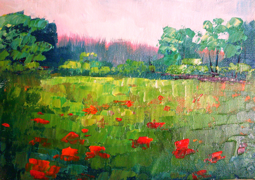 Landscape Paintings by Kimberly Vanlandingham
