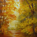 Down the Yellow Path by Barbara Haviland