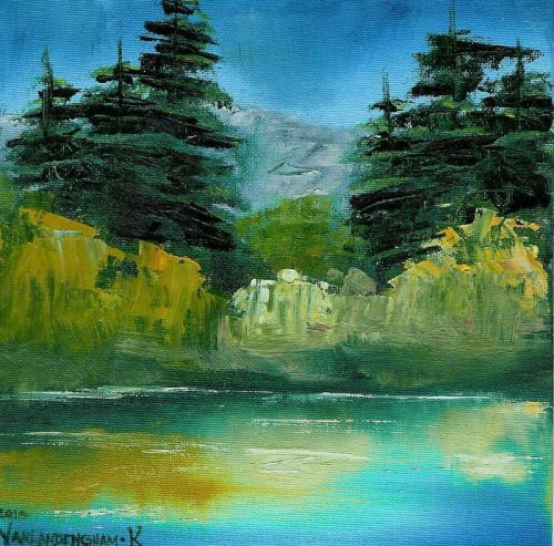 Landscape Painting by Kimberly Vanlandingham
