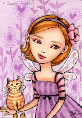 Lavender Lilly by Carmen Medlin