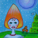 Candy Corn Winter by Sherry Key