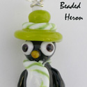Penguin About Town by Beaded Heron