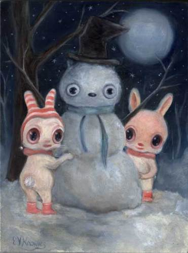 Snow Bunnies by Vicky Knowles