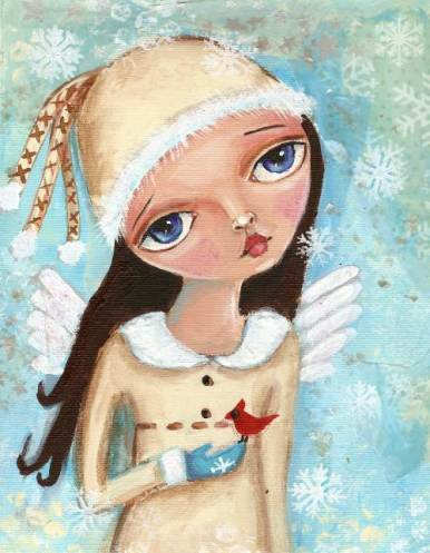 Snow Fairy by Betty Stoumbos