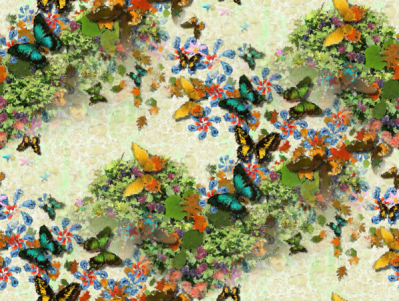Butterfly Garden by Ruth Jamieson