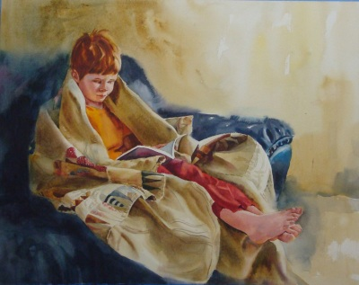 Dylan Reading by Kathy Jurek