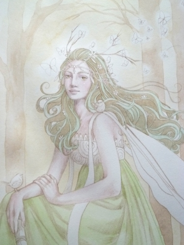 Lady of the Forest by Sara Burrier