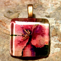 Wildflower Pendant by Jeanne Forsyth