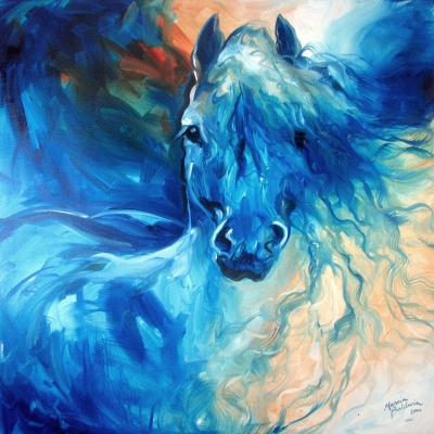 BLUE GHOST by Marcia Baldwin