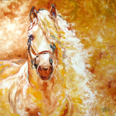 ANDALUSIAN GOLDEN GRACE by Marcia Baldwin