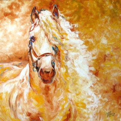 ANDALUSIAN GOLDEN GRACE by Marcia Baldwin