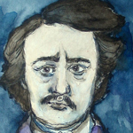 Edgar Allan Poe by Patience