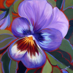 Pretty Pansy by Patricia Lee Christensen