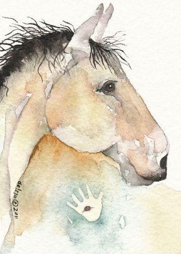 War Horse by Gretchen Del Rio