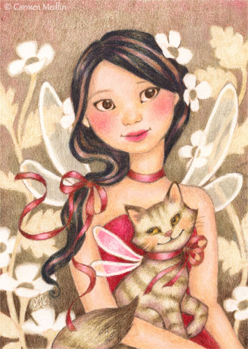 Fairy Friends by Carmen Keys Medlin