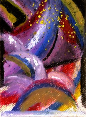 Liftoff ACEO by Caroline Baker $12.50