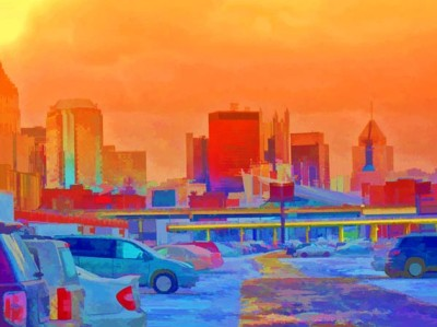 Pittsburgh Skyline $30.00 Print