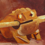 Wooden Frog by Barbara Haviland