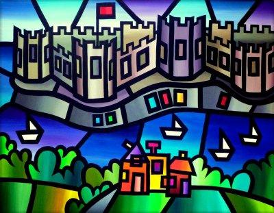 Caernarfon by Amanda Hone