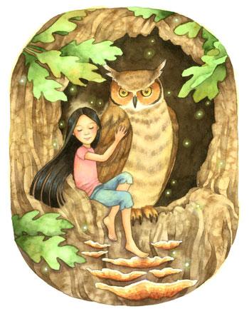 Owl's Hollow by Carmen Keys Medlin
