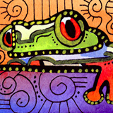 Tree Frog 472 by Lynne Neuman