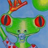 Toad Baby Snaps by Sherry Key