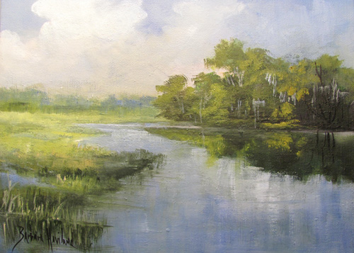 BC Marsh #2 by Barbara Haviland