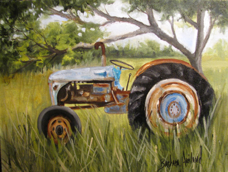 Dena Tractor by Barbara Haviland