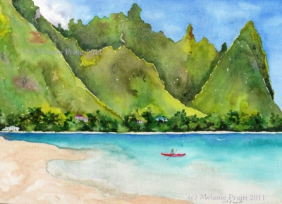Bali Hai by Melanie Pruitt