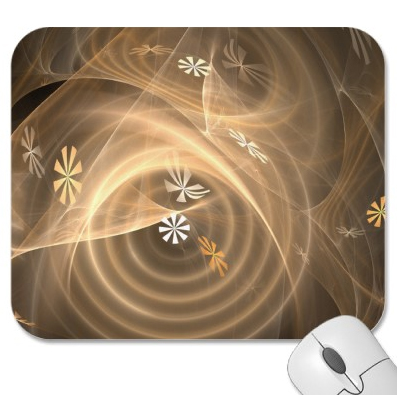 Winter Winds digital print mousepad by Christi Schwartzkopf available on Zazzle