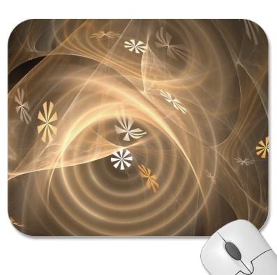 Winter Winds digital print mousepad by Christi Schwartzkopf available on Zazzle
