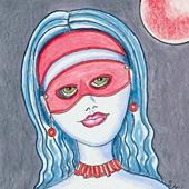 ed Moon Masquerade Ball by Sherry Key
