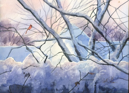 Winter Morning by Cathy Johnson