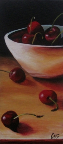Cherry Arrangement by Christine E. Striemer