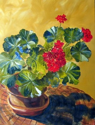 Geranium by Maria Soto Robbins