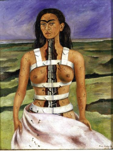 The Broken Column by Frida Kahlo