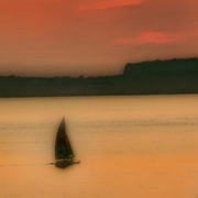 Sunset Sail by Dee Flouton