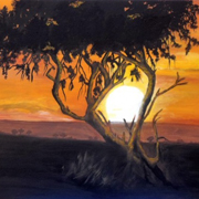 African Sunset by Dia Spriggs