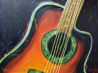 Guitarra de Baile (Dancing Guitar) by Stephanie Allison
