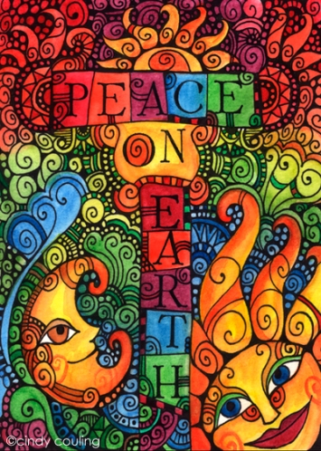 Peace on Earth by Cindy Couling
