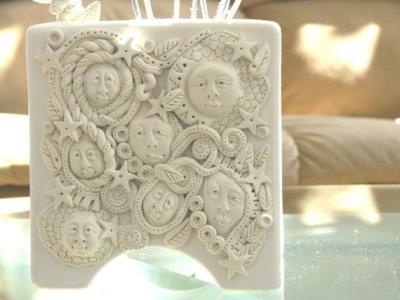 Wall Dancers Vase by Keri Joy Colestock available on Etsy $100